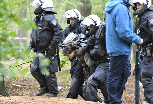 Germany Environment Fight Hambach Forest