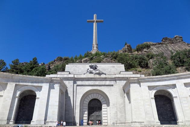 Valley of the Fallen in Spain