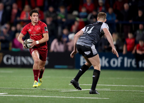 Joey Carbery and Tom Williams