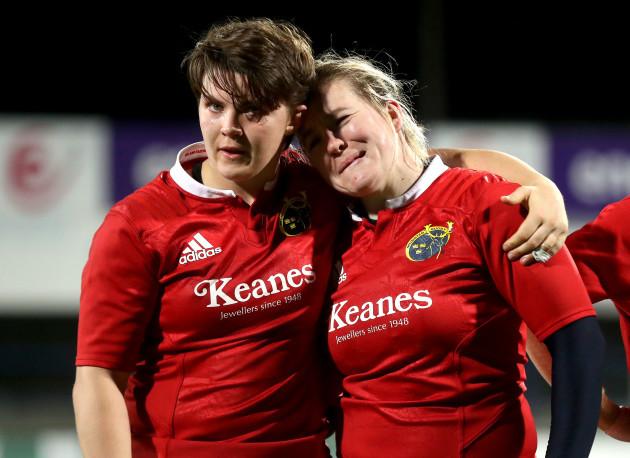 Ciara Griffin and Niamh Briggs