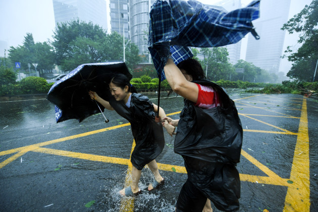 CHINA-GUANGDONG-TYPHOON MANGKHUT (CN)