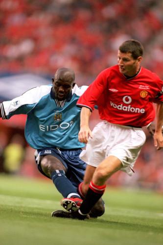 Soccer - Denis Irwin Testimonial - Manchester United v Manchester City
