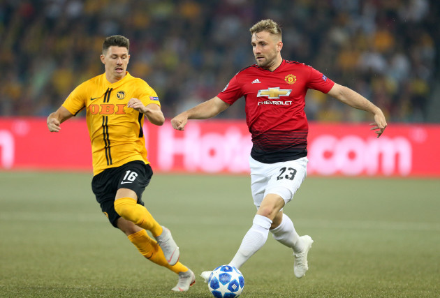 BSC Young Boys v Manchester United - UEFA Champions League - Group H - Stade de Suisse