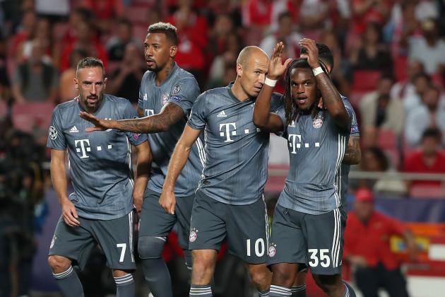 Portugal: SL Benfica v FC Bayern Muenchen - UEFA Champions League