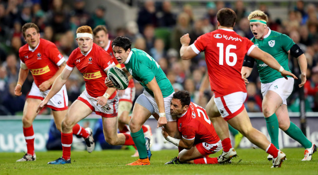 Joey Carbery and Philip Mack