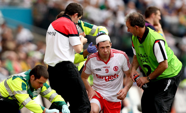 Sean Cavanagh injured