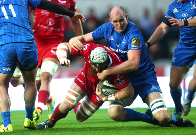Jake Ball and Devin Toner