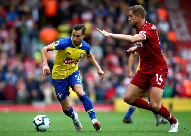 Liverpool v Southampton - Premier League - Anfield