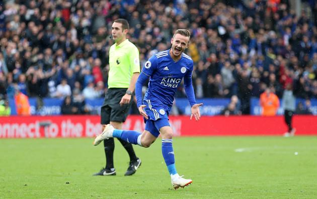 Leicester City v Huddersfield Town - Premier League - King Power Stadium