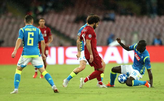 Napoli v Liverpool - UEFA Champions League - Group C - Stadio San Paolo