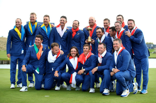 42nd Ryder Cup - Day Three - Le Golf National