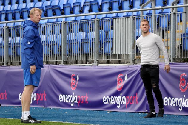 Leo Cullen and Jonny Cooper