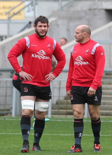 Marcell Coetzee and Rory Best