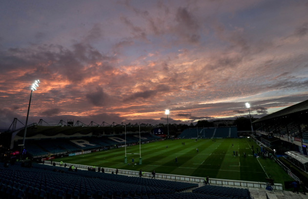 A view of the RDS ahead of the game 12/10/2018