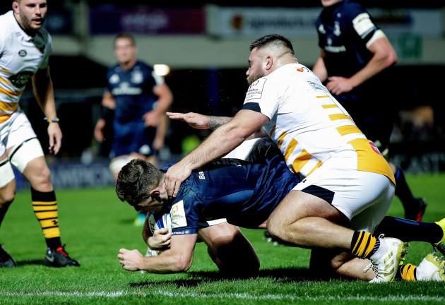 Luke McGrath scores their second try 12/10/2018
