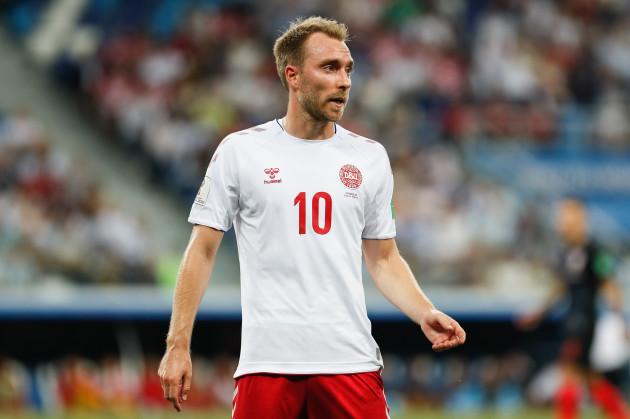 Russia: Croatia v Denmark: Round of 16 - 2018 FIFA World Cup