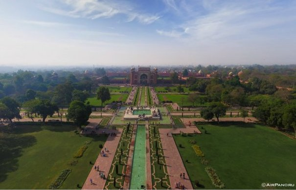 In Pictures An Aerial Tour Of The Taj Mahal 183 The Daily Edge