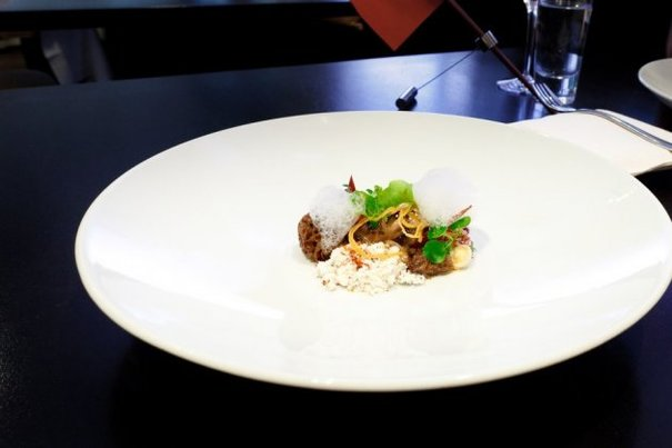 What does food look like at a Michelin 3-star restaurant?