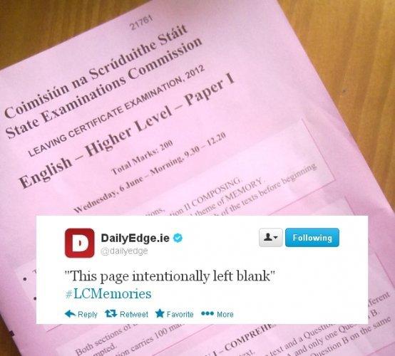 Honours english leaving cert essays
