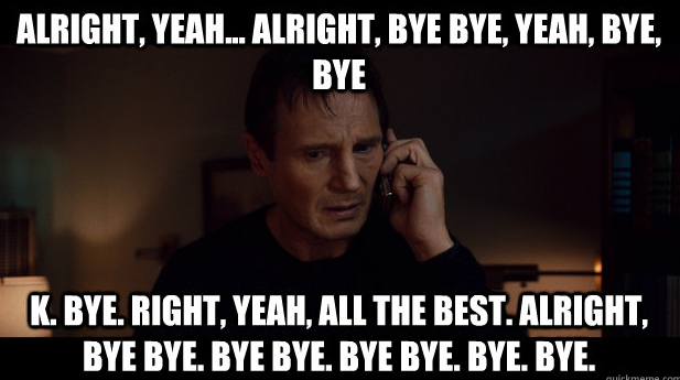 So who was Liam Neeson really talking to in 'Taken'? · The ...