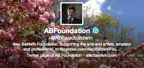 Image result for alec baldwin foundation