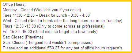 dublin guy sells excuses for u20ac2 99 on adverts ie the daily edge rh dailyedge ie