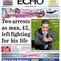 Man proposes on the front page of his local newspaper