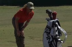 Miguel Angel Jimenez does this great stretching routine before every round