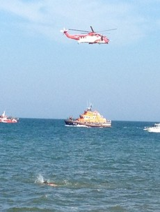 Two hour search for swimmer in Wexford proves to be a false alarm