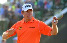 Westwood leads the Open as Tiger and Hunter stalk close behind