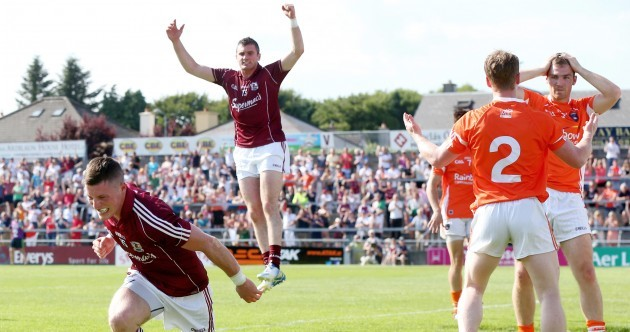 Cummins goal helps Galway shock Armagh in Salthill