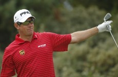 Westwood and Scott share Open lead as Poulter charges