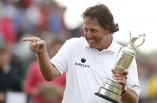 Gloom to glory a short step for Mickelson