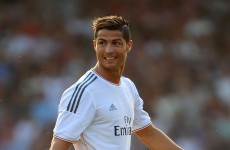 Ronaldo in England... to help Real Madrid stuff Bournemouth