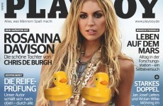 The Dredge: Rosanna Davison is going topless... again