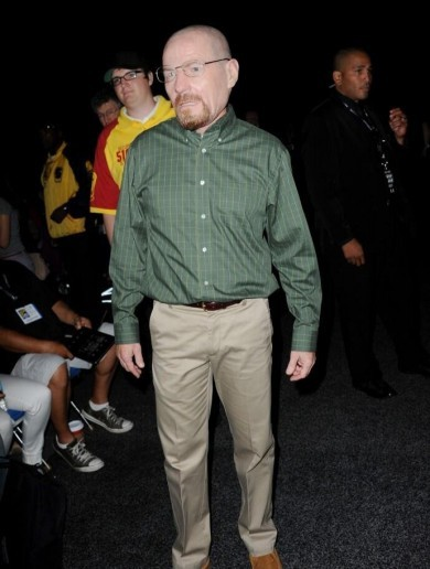 Bryan Cranston wore a Heisenberg mask to Comic Con, and nobody knew