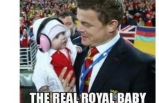 Here is Cian Healy's take on the Royal Baby