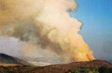 Nine fire engines sent to another gorse fire on Howth Hill