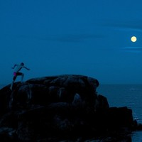 Climbing in the Moonlight Pic of the Day