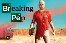 German mag's brilliant Breaking Bad-themed Pep Guardiola cover