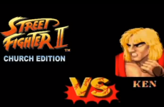 Church + Street Fighter II = Excellence