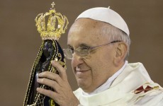 Pope: Resist 'idols' of money, power, pleasure