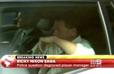 Ricky Nixon quizzed by police