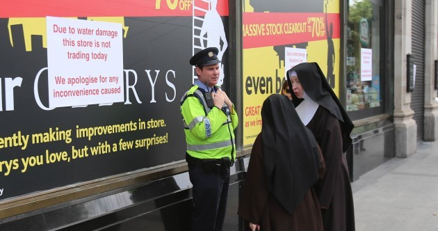 Caption competition: What are these nuns saying to the garda?