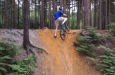 The most majestic fall from a bike we've ever seen