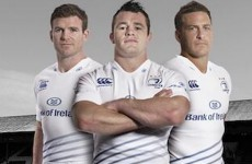 Leinster officially unveil new home and away kits
