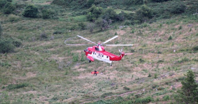 Coast Guard rescues man after bike fall in Dublin Mountains