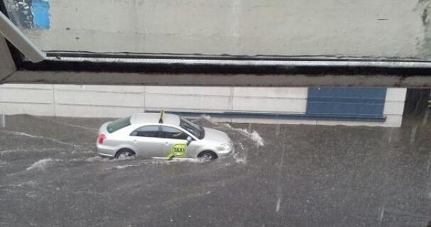 Pics: Flooding reported as thunderstorm hits Dublin