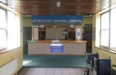 Major clean-up underway at flooded Letterkenny hospital