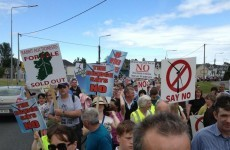 Anti-wind farms protest takes place in Mullingar